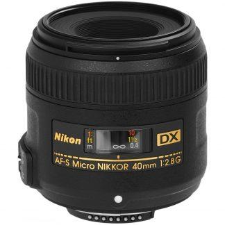 Nikon AF-S DX Micro Nikkor 40 mm, f/2.8 G